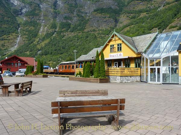 Flåm, Norway - August 06, 2012