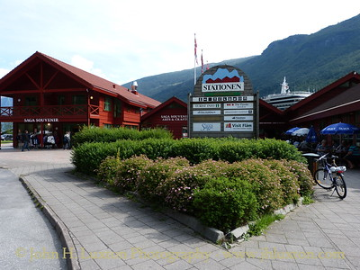 Flåm Station Tourist Complex - August 06, 2012