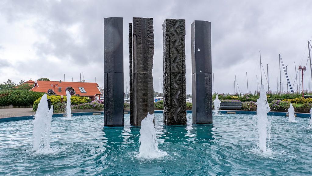 Visit Kristiansand: The Kristiansand Boardwalk Fountain