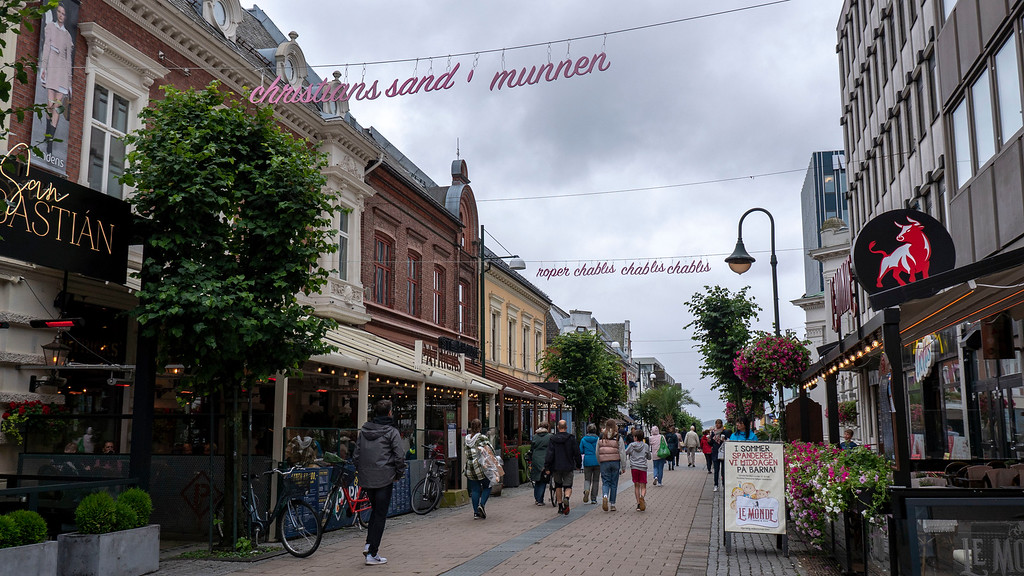 Kristiansand attractions: Kristiansand shopping