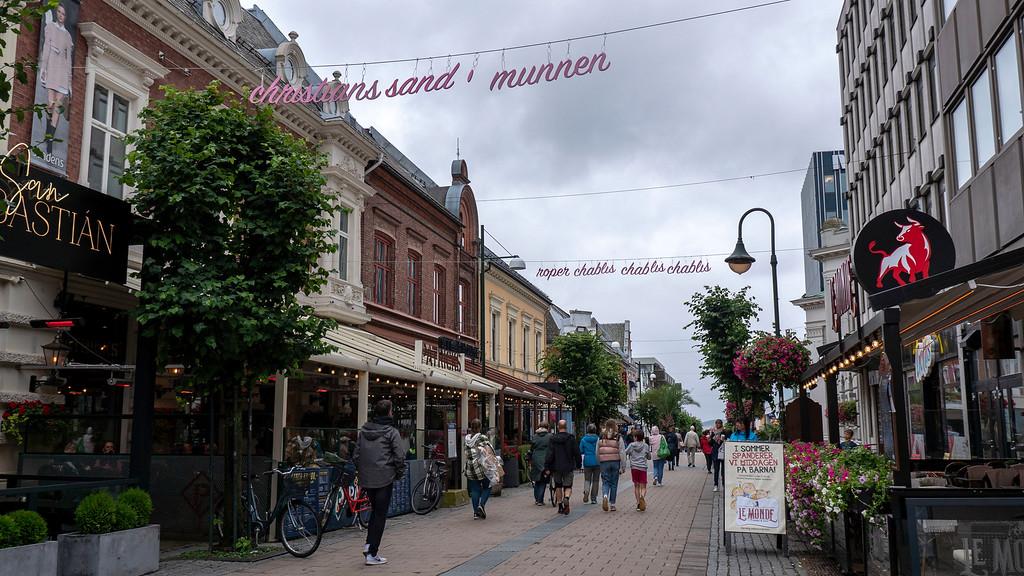 Kristiansand attractions: Kristiansand shopping