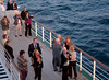 Enjoying the midnight sun, Queen Elizabeth 2, Barents Sea, 7 June 2008