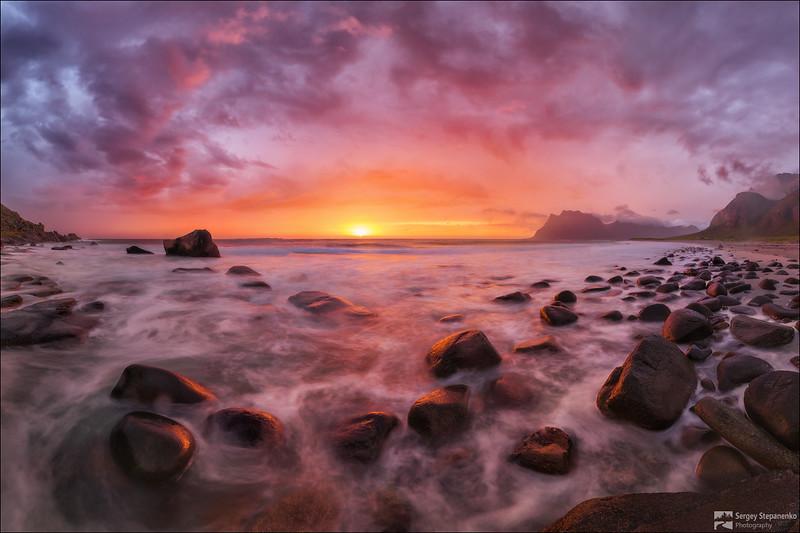 The Midnight Sunset | Полуночный закат