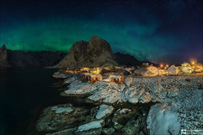 Hamnoy Lights | Свет Hamnoy
