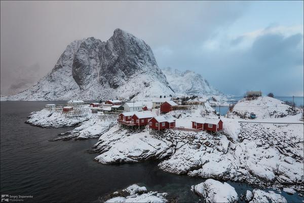 Arctic Day in the Village | Арктический день в деревушке