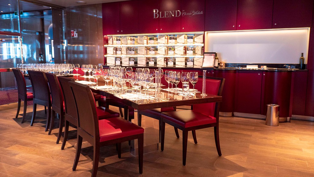 BLEND Wine Blending at Sea - Nieuw Statendam