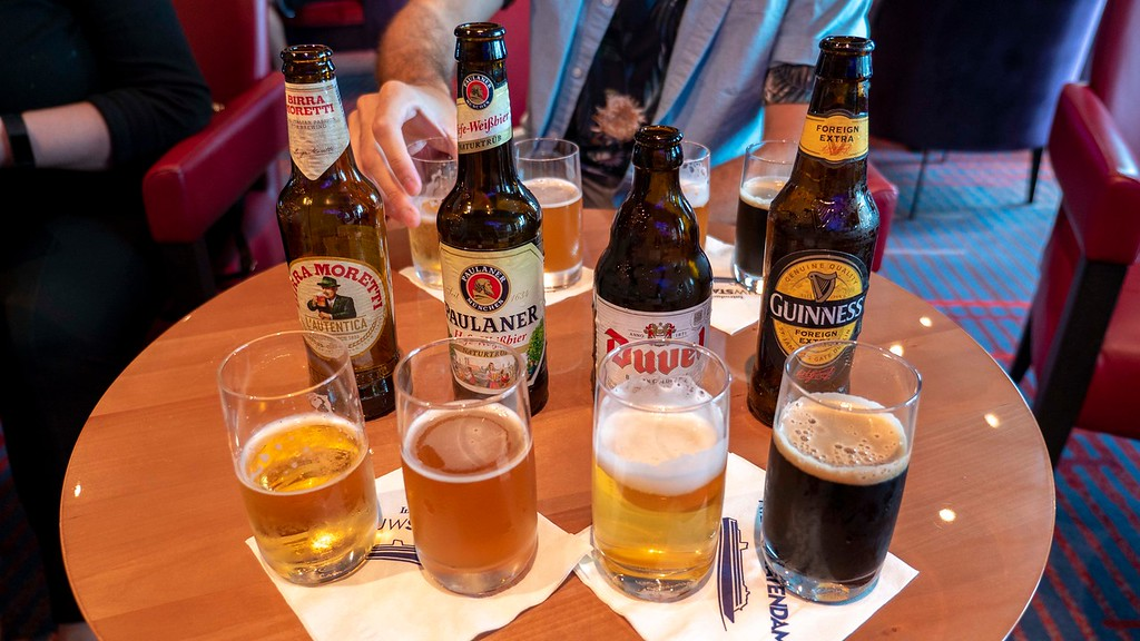 Nordic Cruise with Holland America Line: Beer tasting