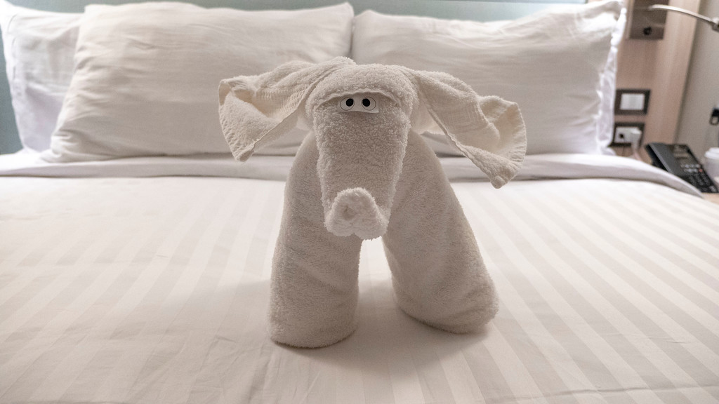 Holland America Line Towel Animal - Elephant