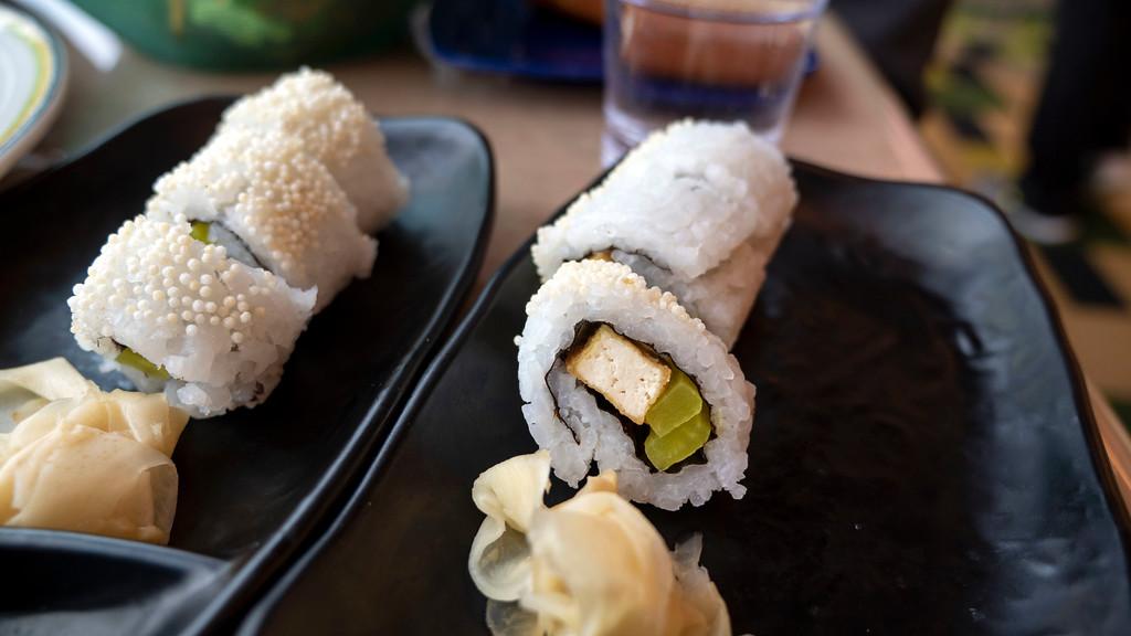 Sushi on HAL Nieuw Statendam at the Lido Market