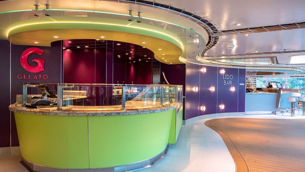 Gelato on Nieuw Statendam - HAL Cruises