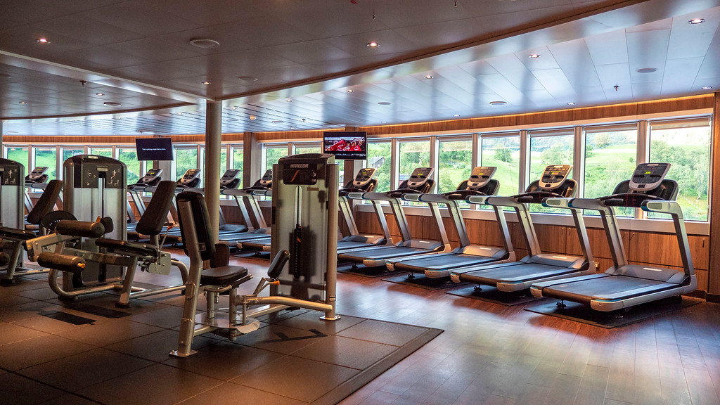 Nieuw Statendam: Fitness Center