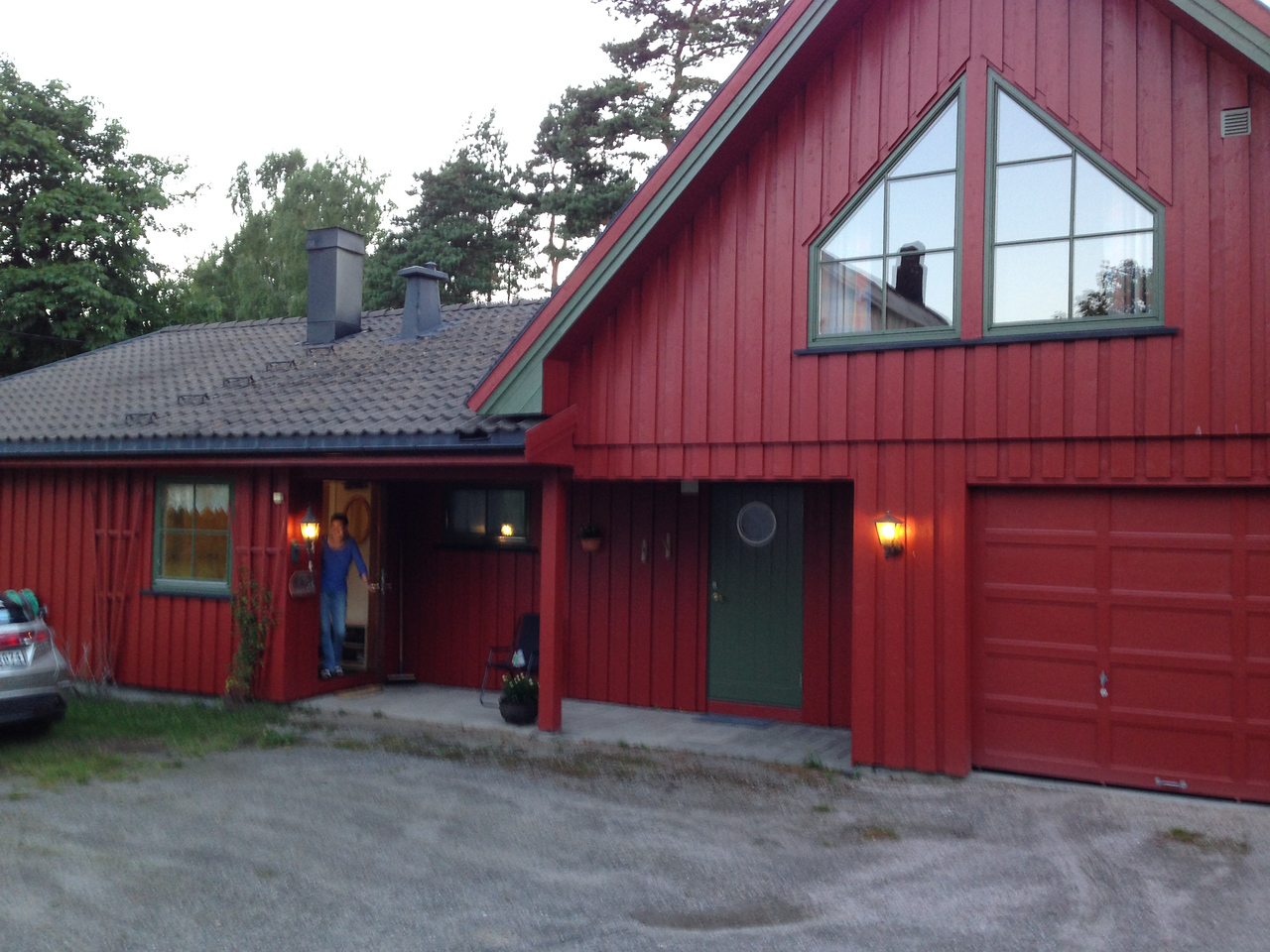 Home of my third-cousin, Tove.