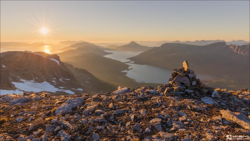 Novafjellet View | Вид с Novafjellet