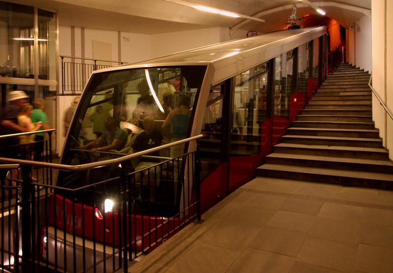 Floibanen funicular, Bergen, 4 June 2008 1
