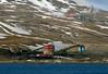 Coal mines near Longyearbyen (Spitzbergen), 8 June 2008