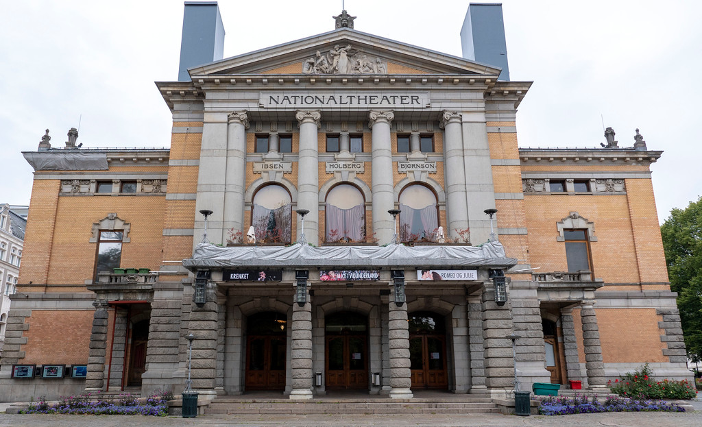 National Theatre of Oslo building - One day in Oslo Norway itinerary