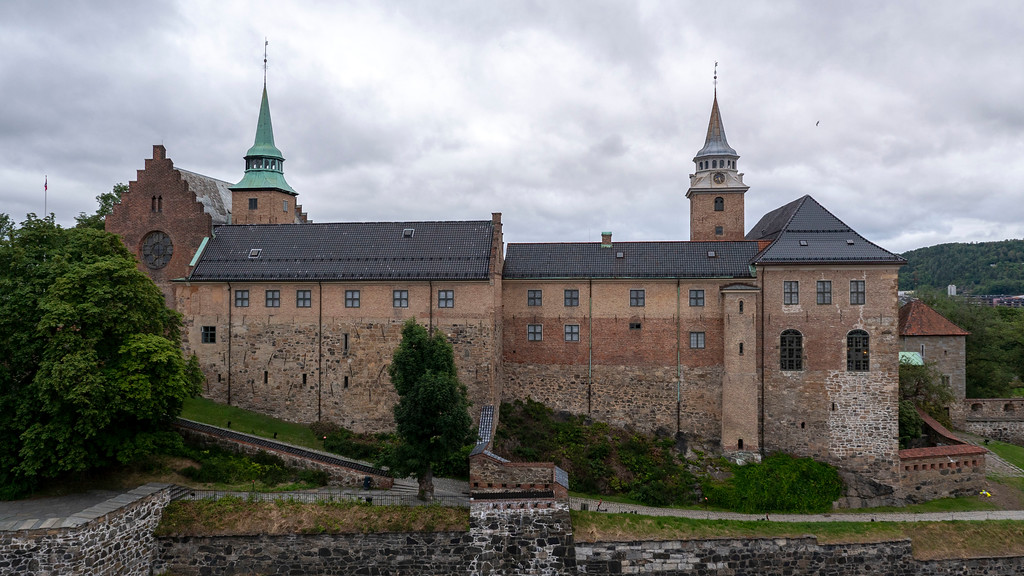 Akershus Fortress - One day in Oslo Norway