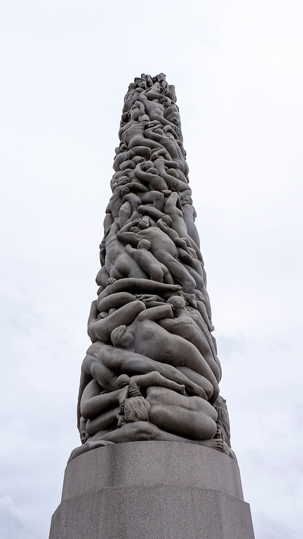 The Monolith - Vigeland Park in Oslo - Oslo attractions