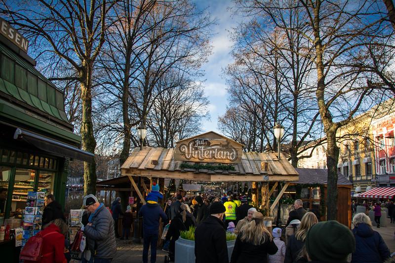 karl johans gate christmas markets