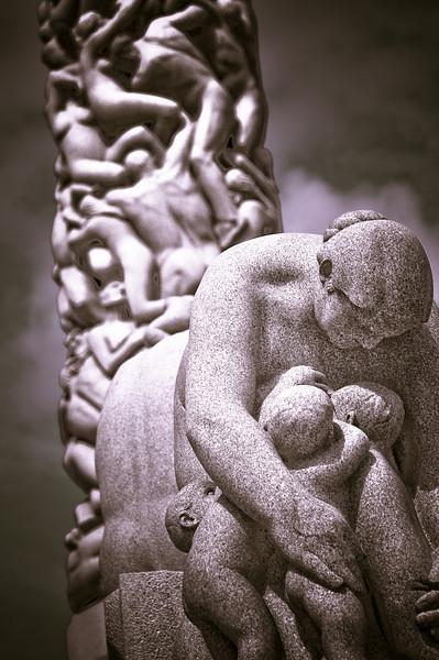 Frogner park sculpture