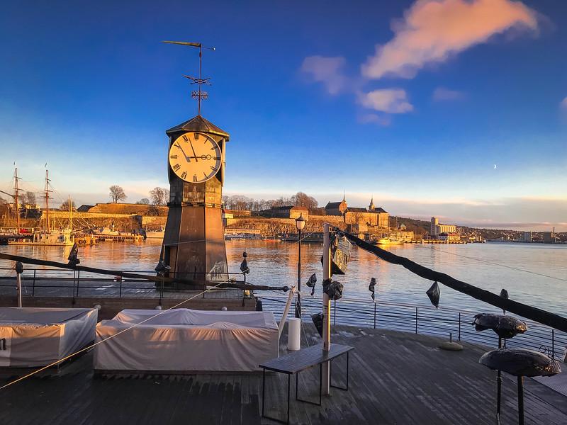 aker brygge wharf oslo