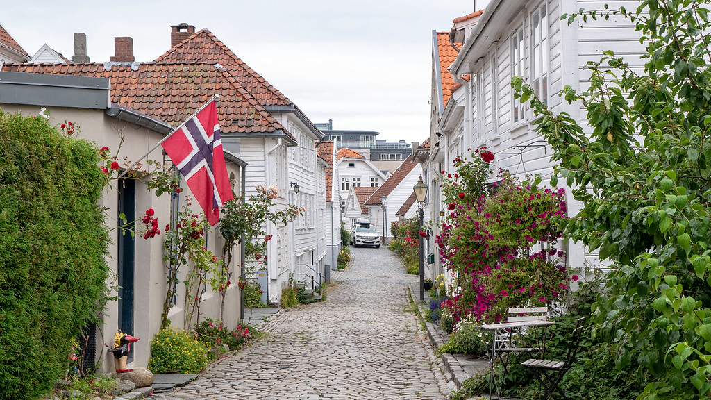Beautiful European cities: Stavanger, Norway
