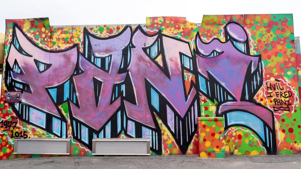 Geopark - graffiti in Stavanger Norway
