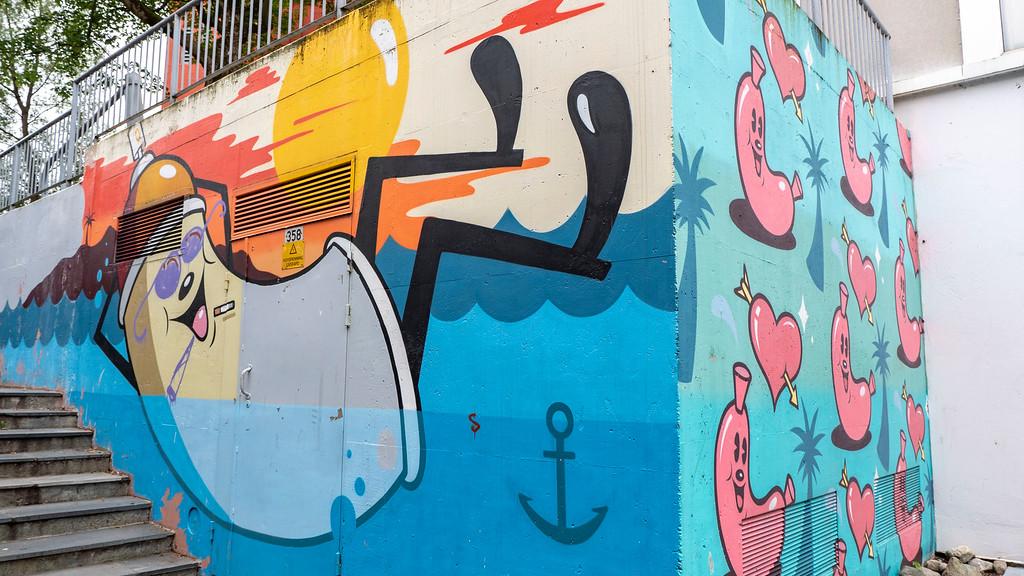 Street art Stavanger Norway