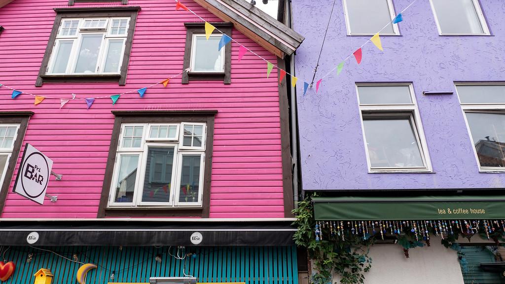 Stavanger's Notting Hill - Colorful street in Stavanger Norway - Stavanger in One Day