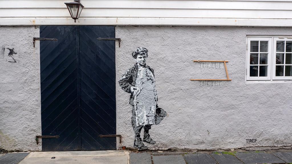 Stavanger Street Art in Gamle Stavanger (Old Stavanger)