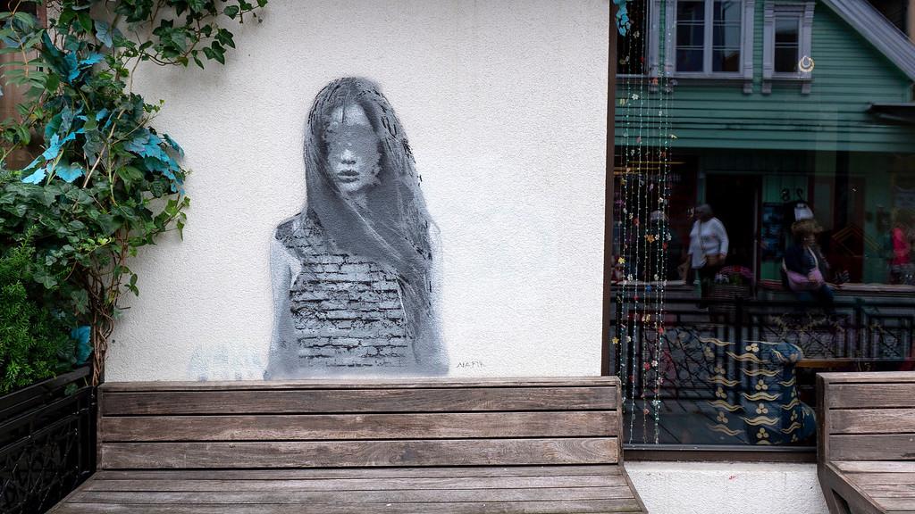 Stavanger street art on the Color Street