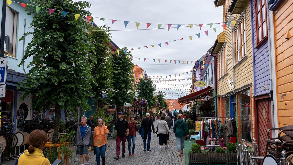 Ovre Holmegate, or Fargegaten, Stavanger Norway