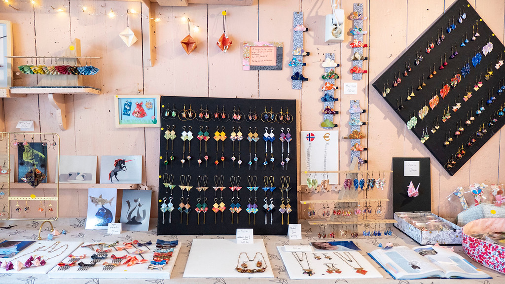 Cokott' Japanese Origami Shop - Jewelry boutique in Old Stavanger - Things to do in Stavanger Norway