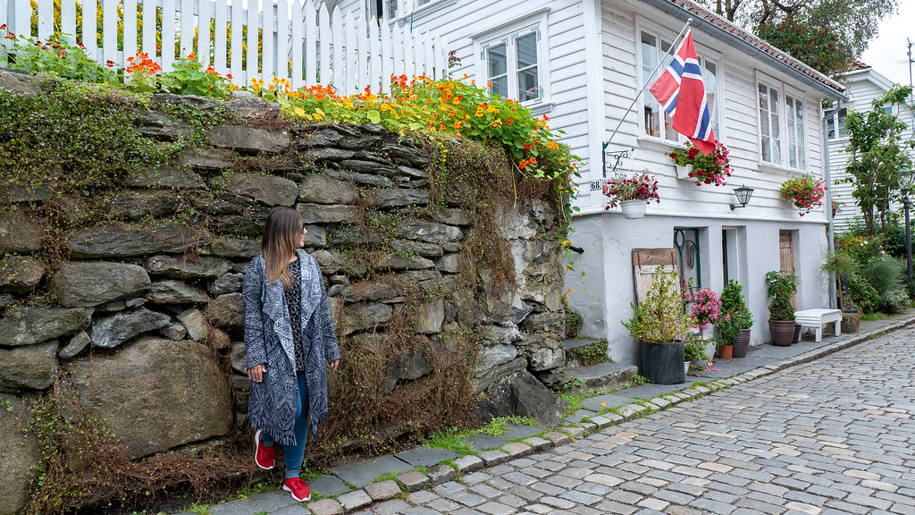 Wandering Gamle Stavanger or Old Stavanger - The Old Town in Stavanger Norway