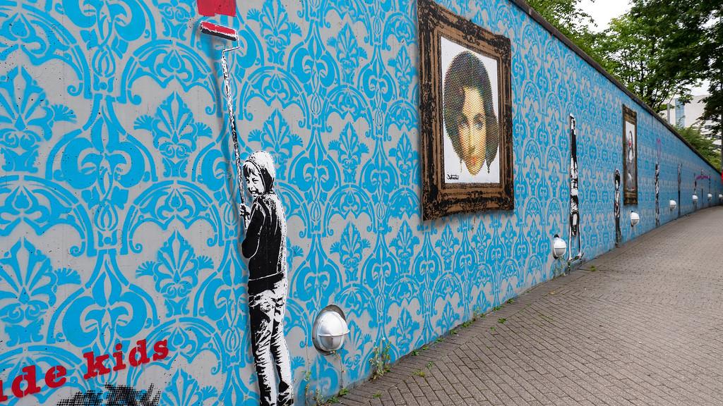 Stavanger street art - Stavanger stencil art - public art - outdoor art - Nuart festival