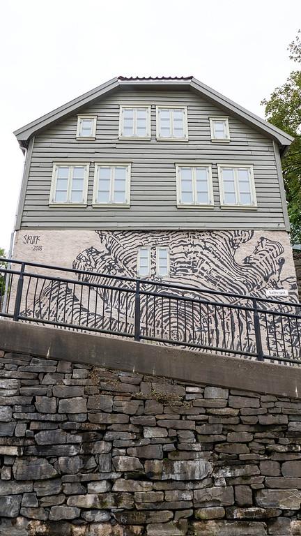Street art in Stavanger Norway