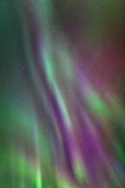Aurora Borealis Spiral Display