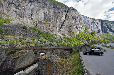 Mabodalen. The old road bridge.