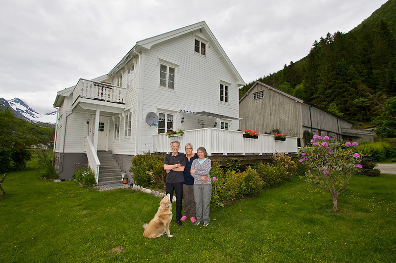 On the Bjorstad Farm in Valldal - operated by the same family line since 1565.