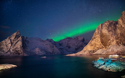 Reinefjorden Aurora