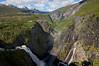 Voringsfossen...see the rainbow.