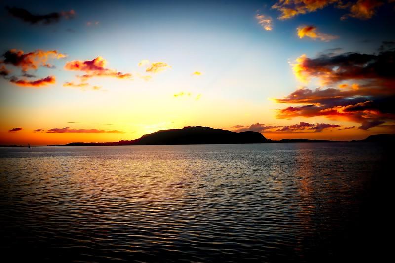 Sunset Over Alesund 0011