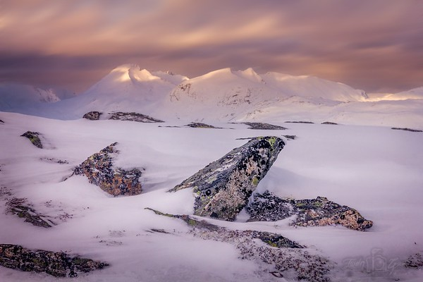 Pastel Mountain Tops