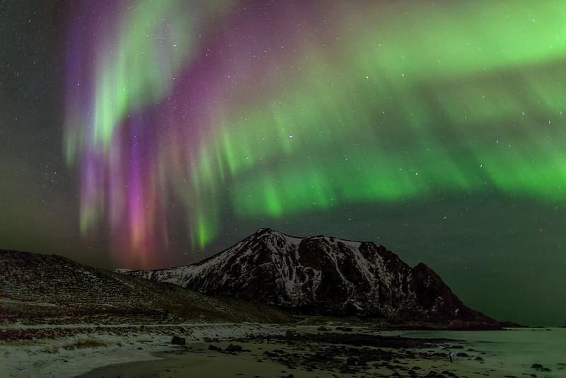 Mountain Aurora Ribbon Photographers
