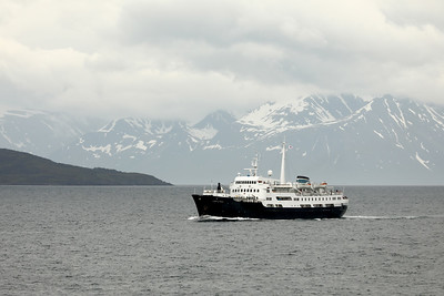 MS Lofoten, Near Risøyrenna, Norland, Norway