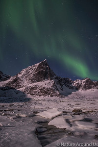 Aurora Borealis at Lofoten