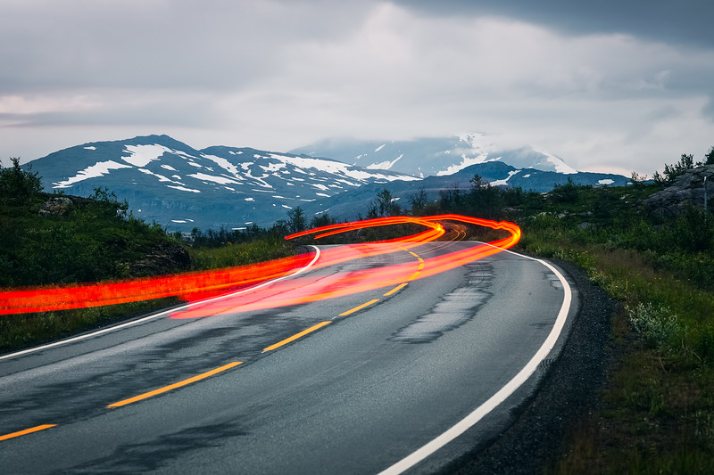 Norway Light Trails