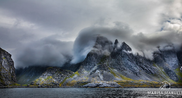Busy Sky (Arctic Circle, Lofoten, Norway)
