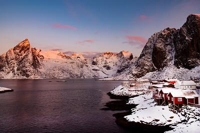 Sunrise Hamnøy Fiskevær