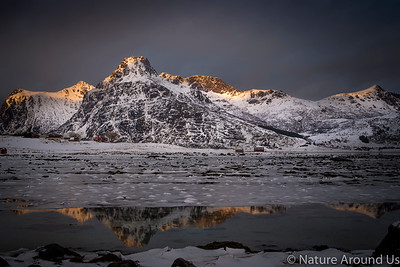 Last light - Lofoten islands